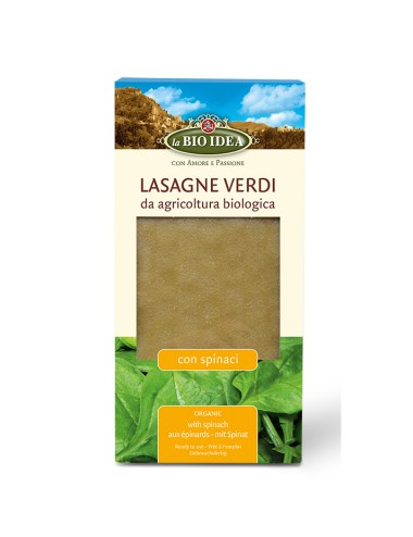 Lasaña verde BIOIDEA 250 gr...