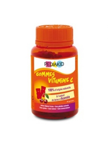 Gominolas vitamina C PEDIAKID