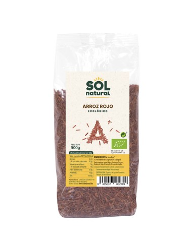 Arroz rojo SOL NATURAL 500...