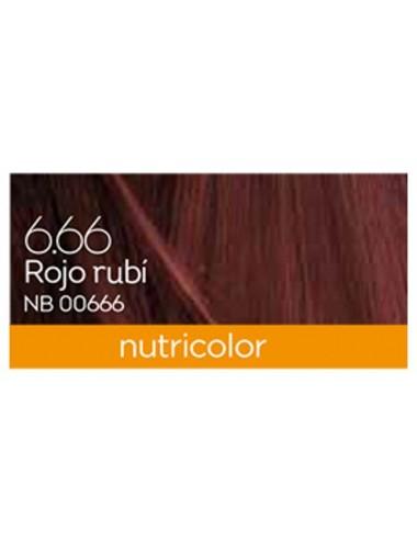 Tinte nutricolor rojo rubi...