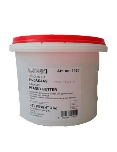 Crema cacahuete MONKI 3 kg
