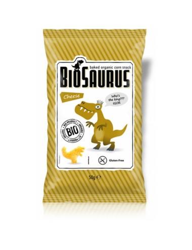 Snack queso BIOSAURIO 50 gr...