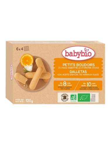 Galletas naranja BABYBIO...