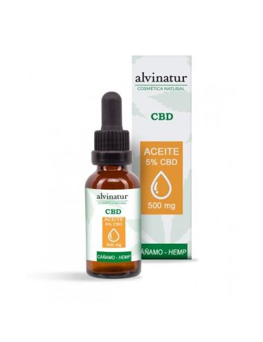 Aceite 5% CBD ALVINATUR 10 ml