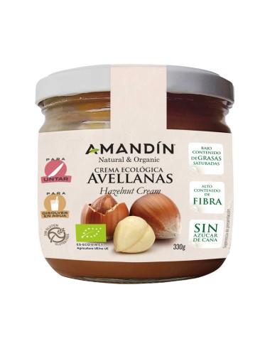 Crema avellana AMANDIN 330...