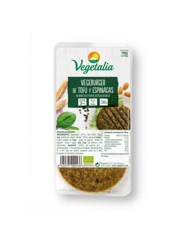 Vegeburger tofu espinacas...