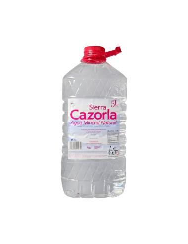 Agua mineral CAZORLA 5 L