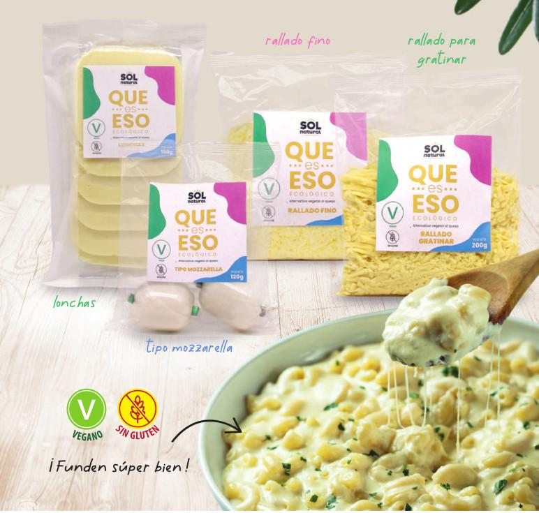 Que es eso, la alternativa al queso 100% vegetal